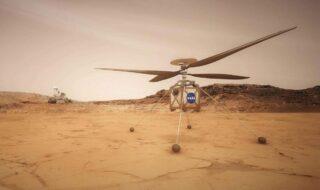 Mars : Ingenuity effectue un 3e vol record de 50 mètres et à plus de 7 km/h