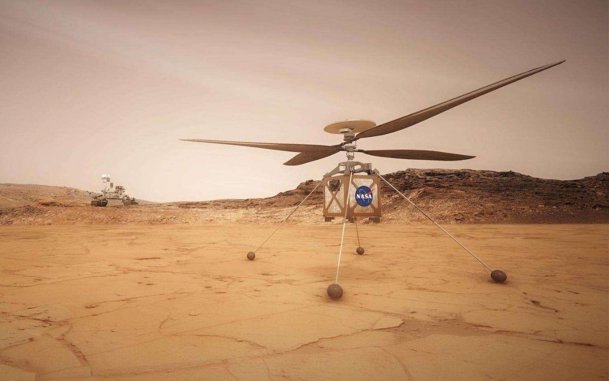 Mars : admirez la planète en 3D grâce à cette image capturée par Ingenuity