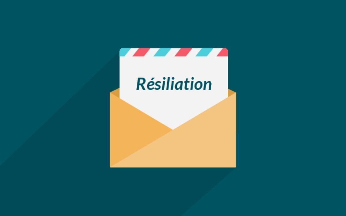 Lettre de résiliation