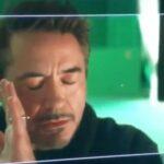 Robert Downey Junior scène coupée Endgame