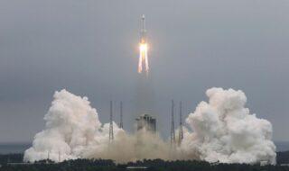 Tianhe : la Chine a lancé le premier module de sa future station spatiale