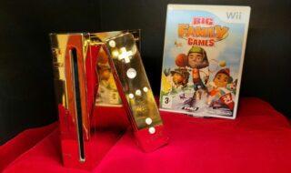 Une Wii dorée conçue pour la reine Élisabeth II se retrouve sur eBay pour 250 000 €