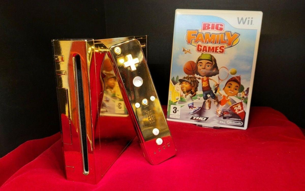 Wii dorée