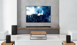 LG dévoile ses nouvelles barres de son compatibles Dolby Atmos et DTS: X