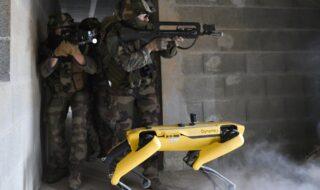 Boston Dynamics : l'armée française teste le robot-chien SPOT sur le champ de bataille