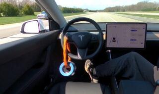 Tesla : ils trompent facilement l'Autopilot en l'activant sans conducteur au volant