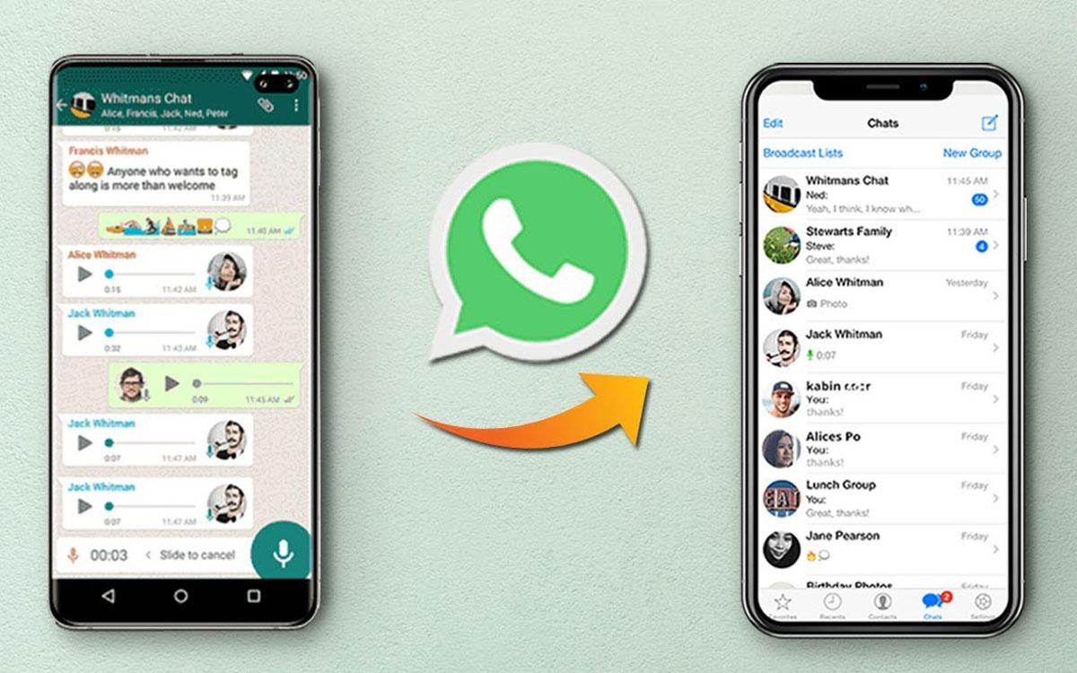 WhatsApp va enfin permettre la migration iPhone et Android