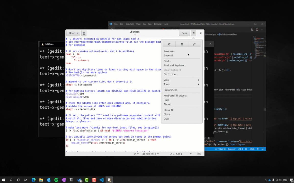 Linux sur Windows 10