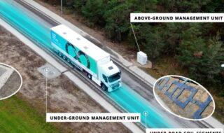 Autoroute, recharge automatique des véhicules électriques