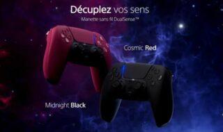 PS5 : deux nouvelles couleurs annoncées pour la manette DualSense