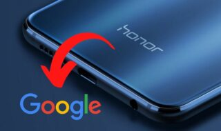Honor et Google