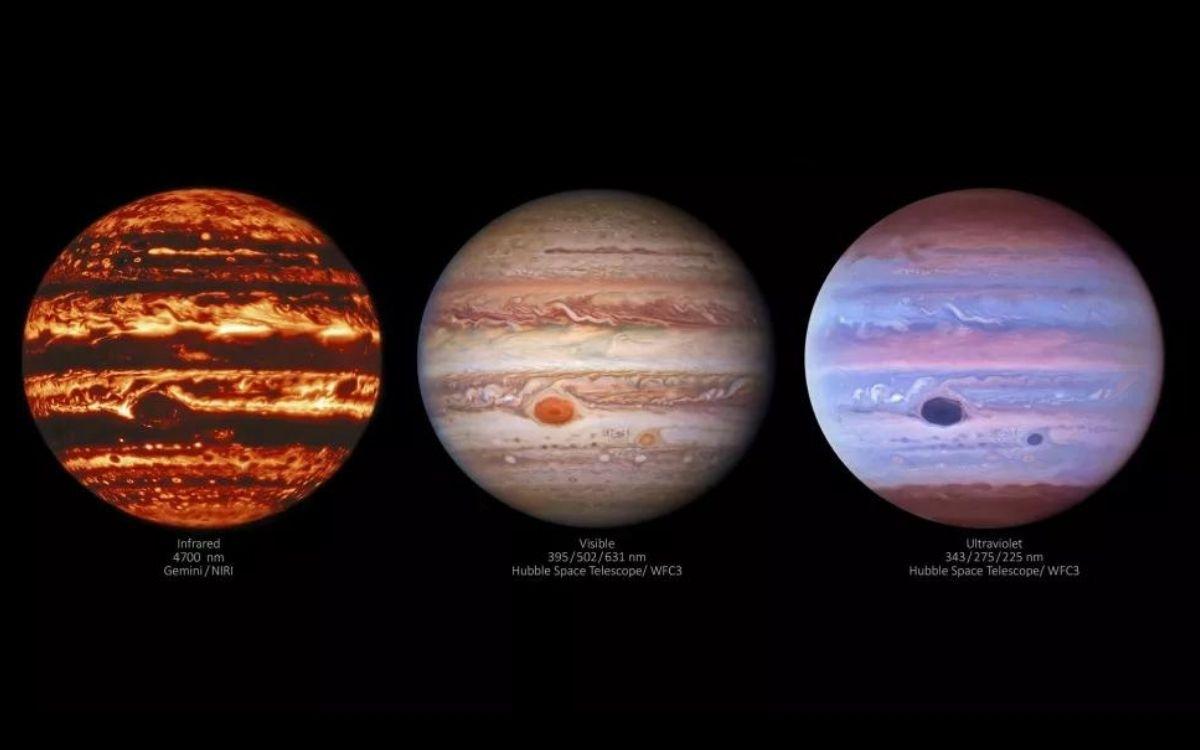 Jupiter : découvrez ces incroyables images de l'atmosphère de la planète