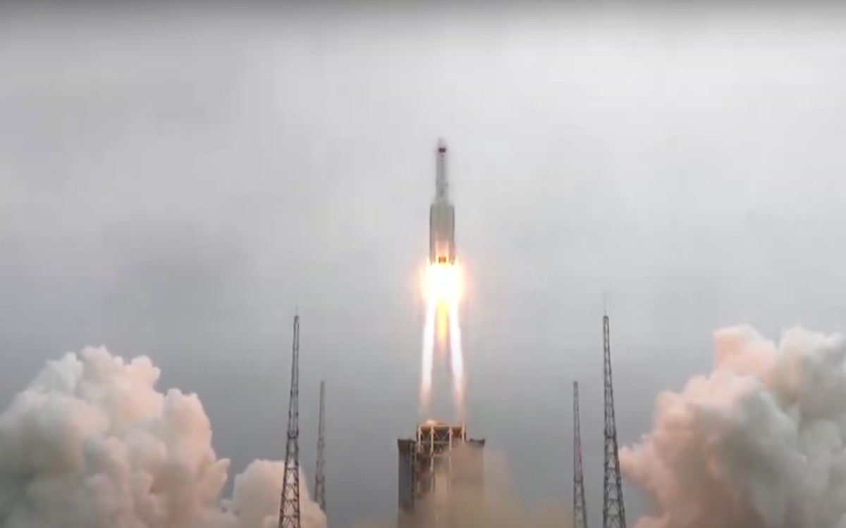 La fusée Long March 5B