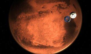 Mars : ses volcans seraient toujours actifs, preuve d'une vie souterraine