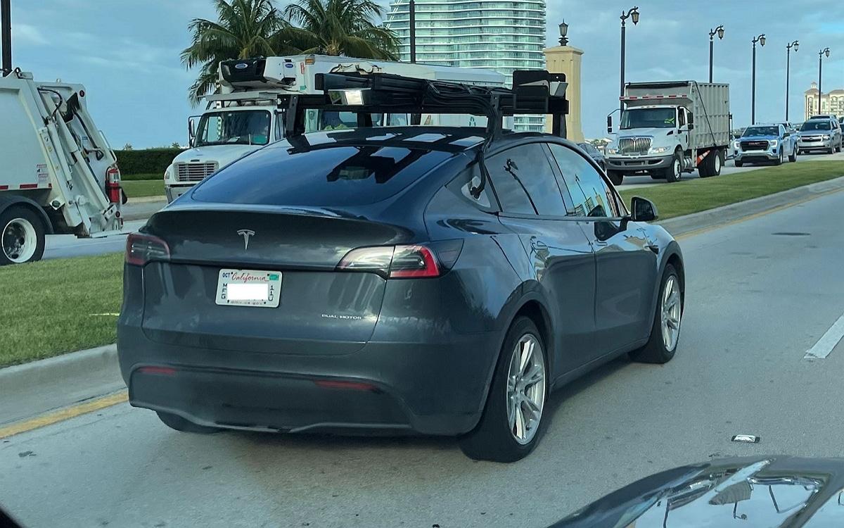 Tesla expérimente les capteurs Lidar
