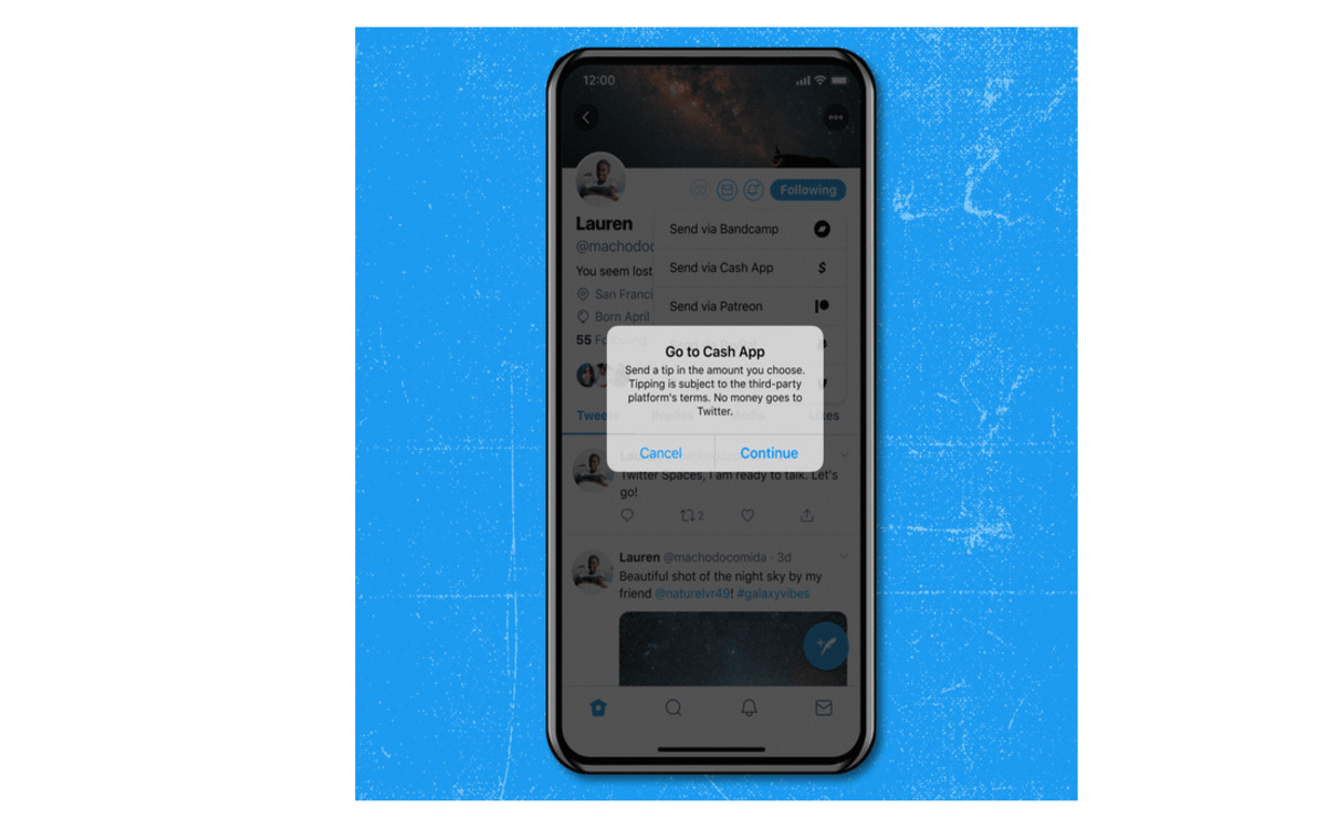 Twitter : vous pouvez désormais laisser des pourboires