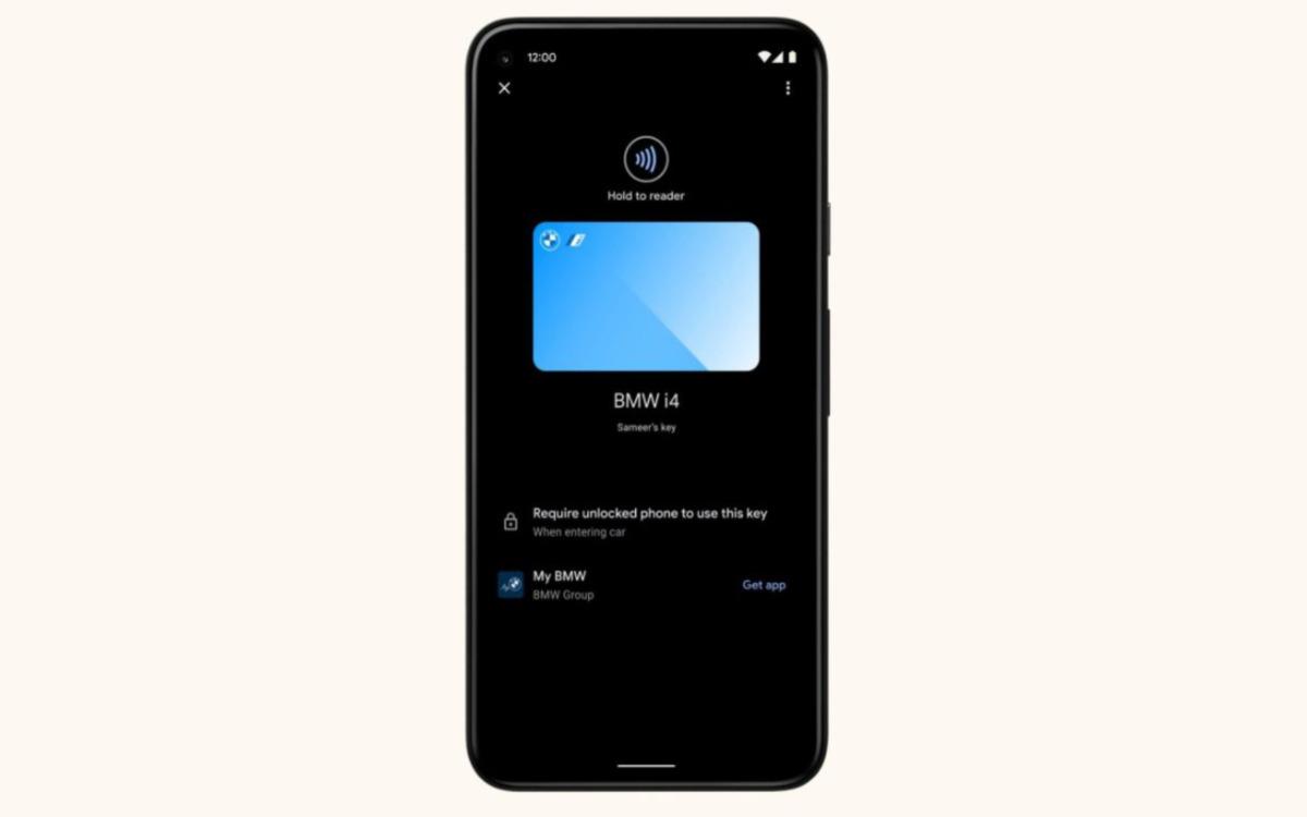 Avec Android 12, ouvrez votre voiture avec un smartphone