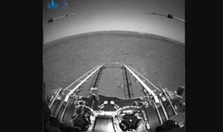 Mars vu par Zhurong