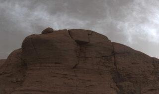 Nuages sur Mars