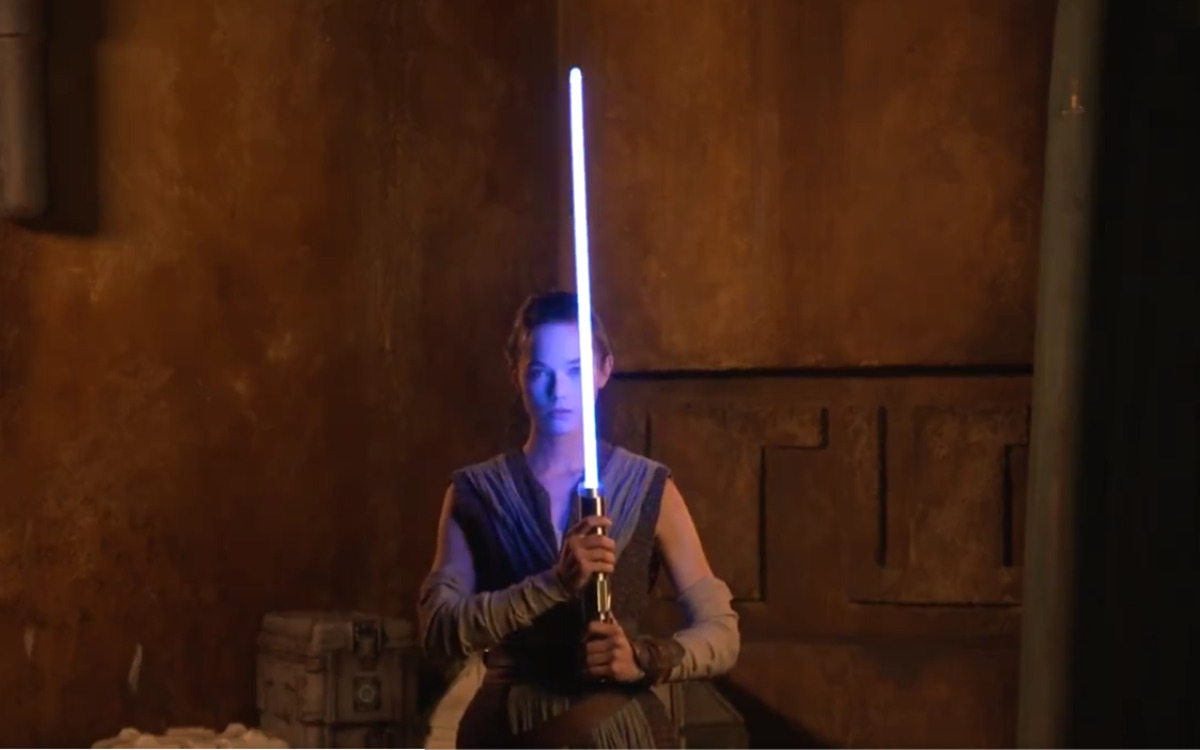 Le sabre laser conçu par Disney