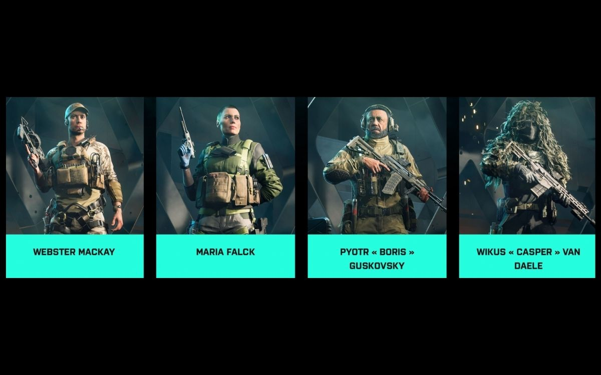 Battlefield 2042 Spécialistes