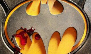 The Flash : une première image ensanglantée du Batman de Michael Keaton