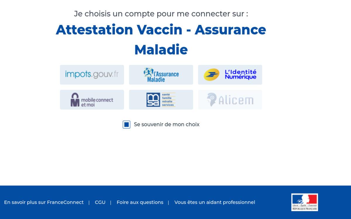 Attestation de vaccination : comment la télécharger