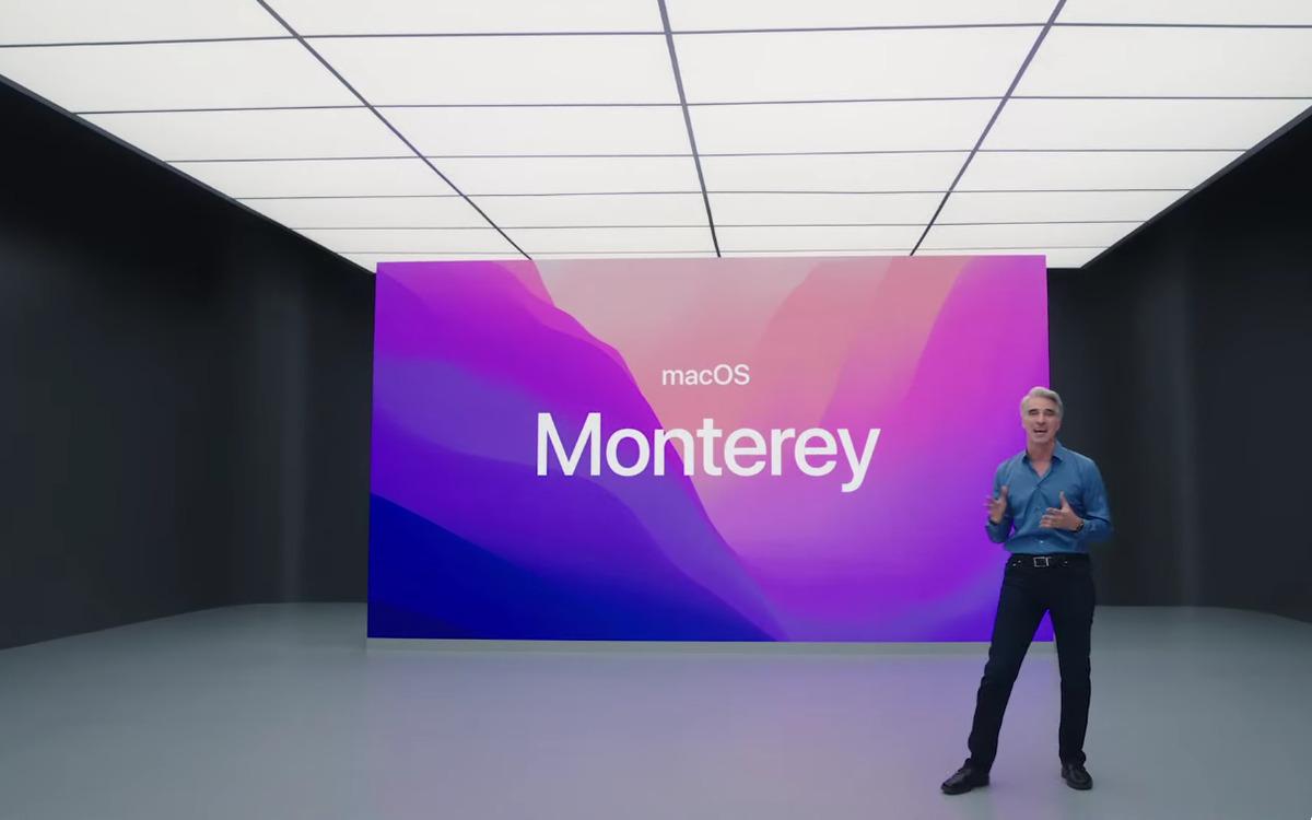 Apple : voici macOS Monterey