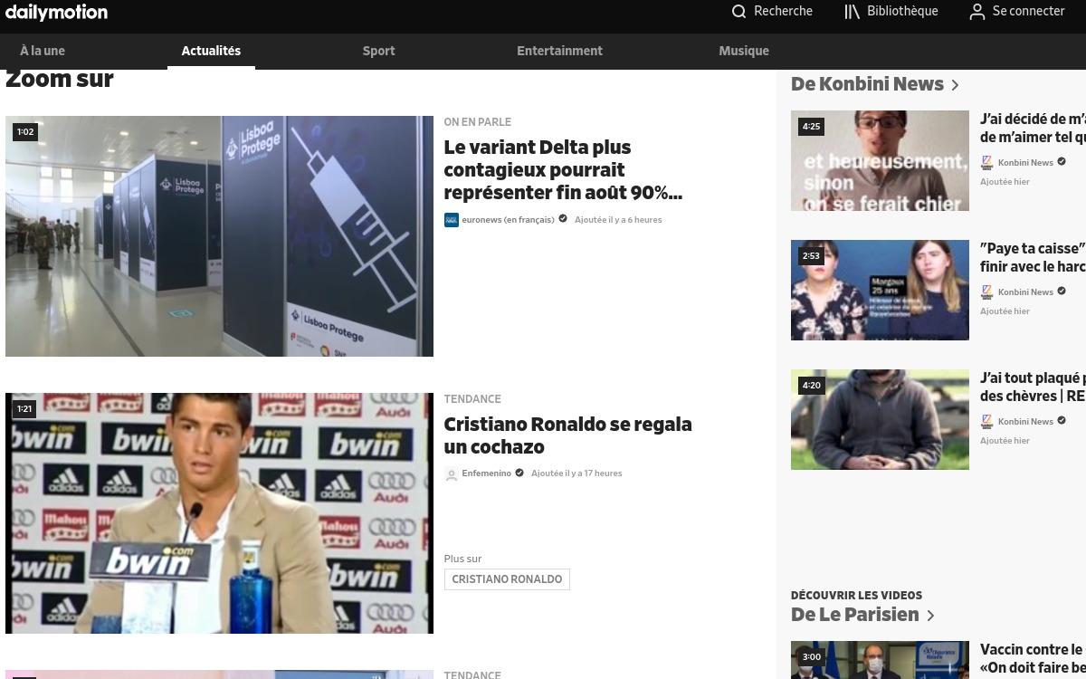 Dailymotion : comment télécharger une vidéo