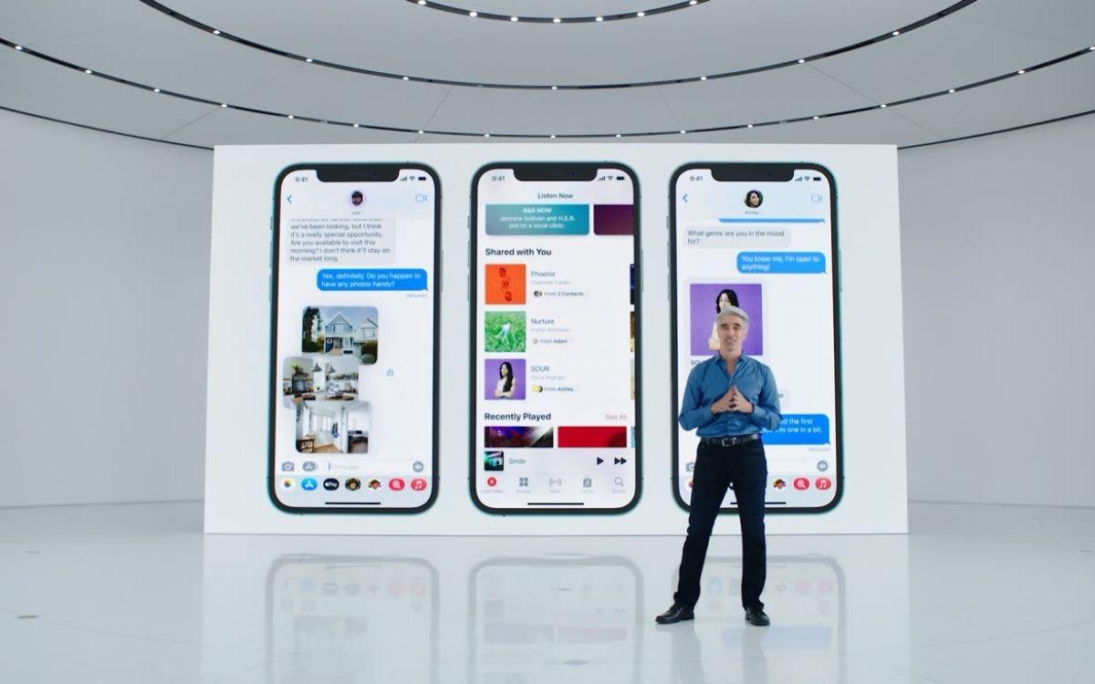 iOS 15 iMessage