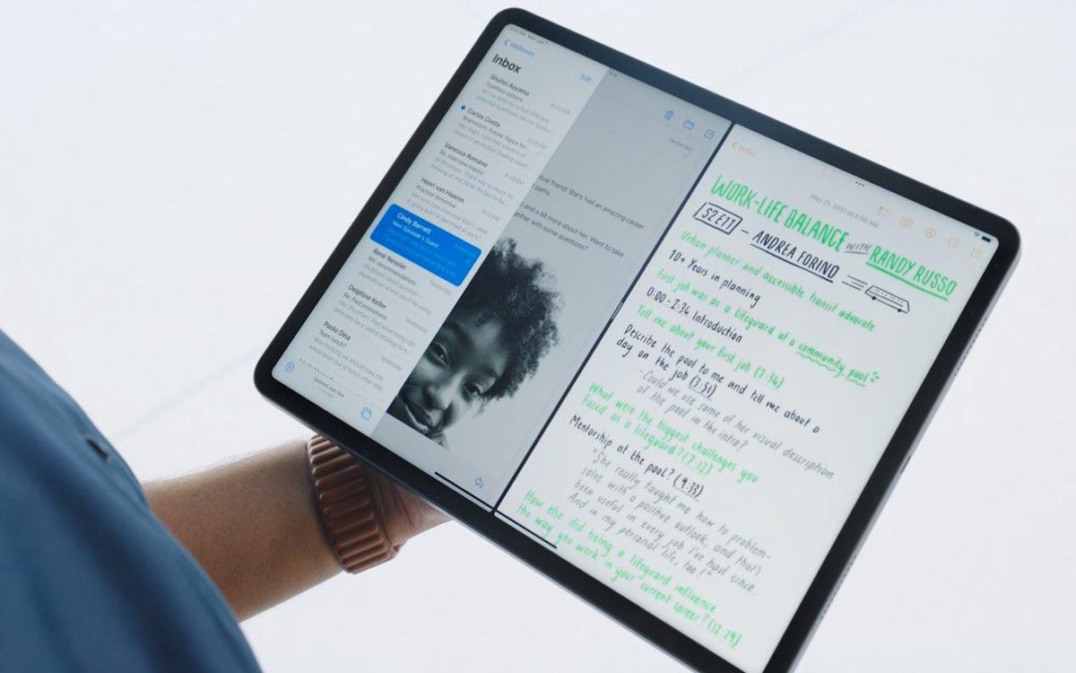 Le multitâche débarque iPadOS 15