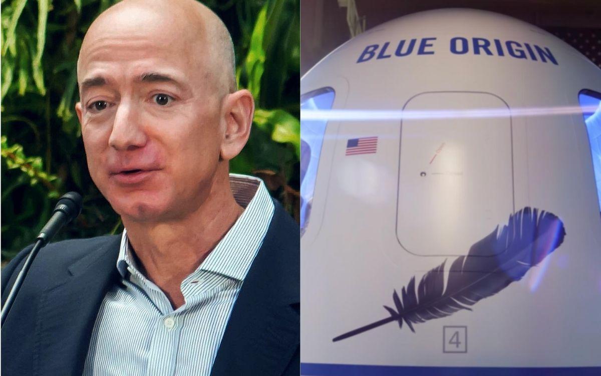 Une pétition pour que Jeff Bezos reste à jamais dans l'espace