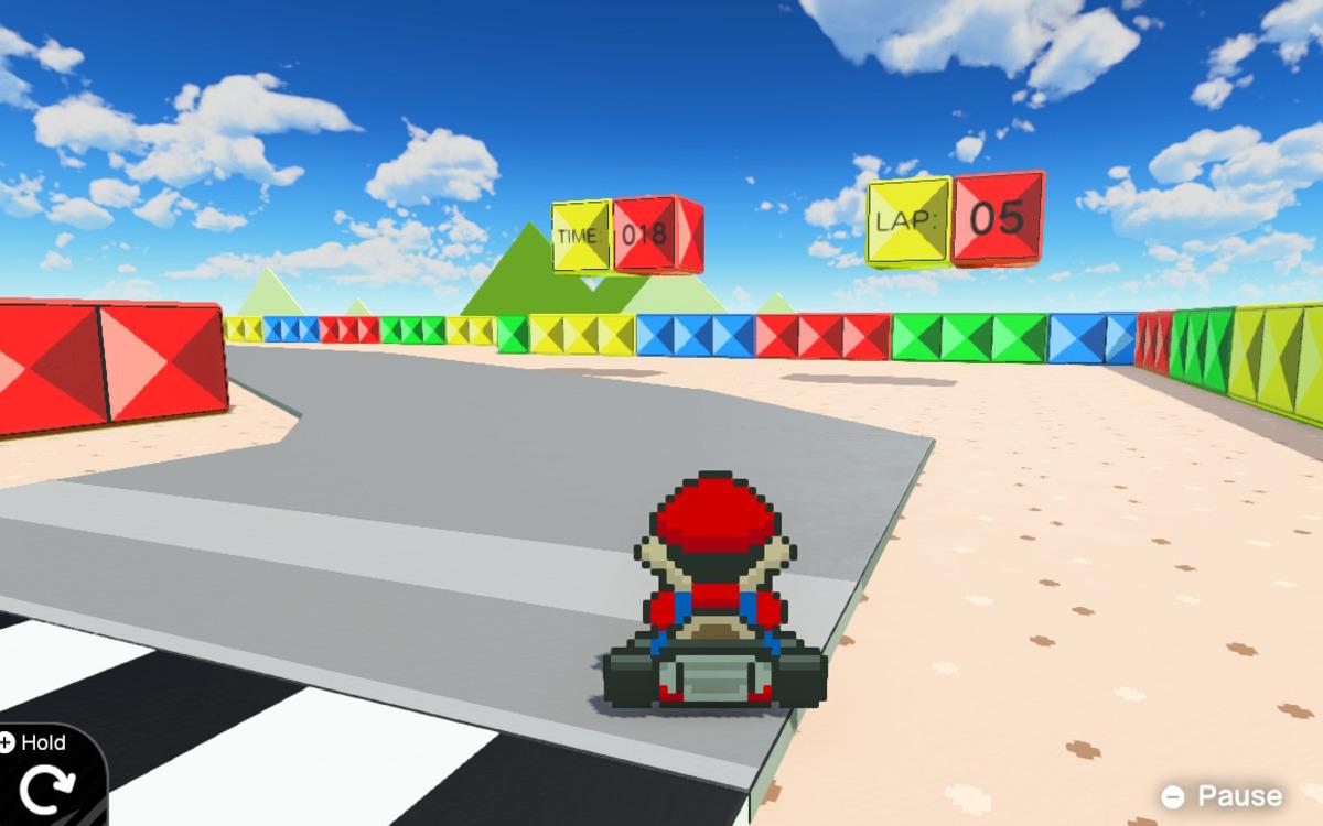 Mario dans l'Atelier du jeu vidéo
