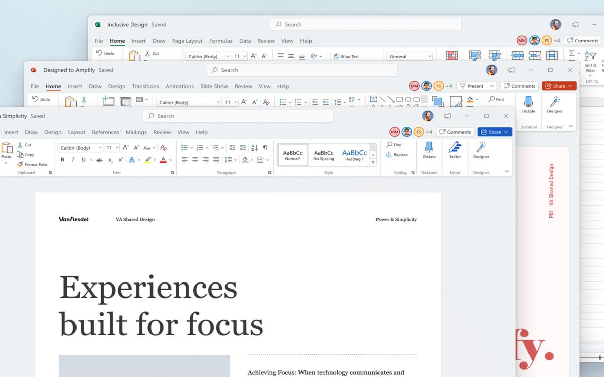 Microsoft Office sur Windows 11
