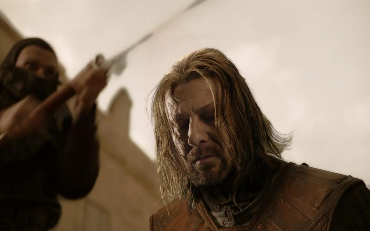 Ned Stark n'a jamais vu la fin de Game of Thrones
