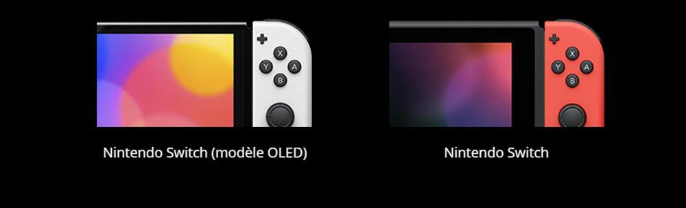 Nintendo Swicth Oled bordures