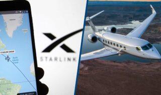 Starlink : SpaceX négocie avec des compagnies aériennes pour le WiFi dans les avions