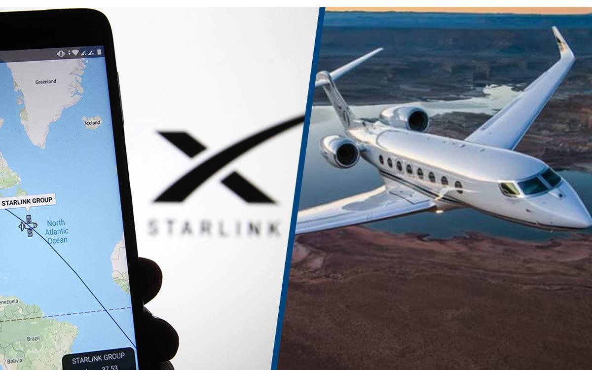 Starlink : WiFi Internet dans les avions