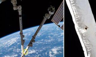 Thomas Pesquet publie une vidéo de l'ISS trouée par un débris spatial