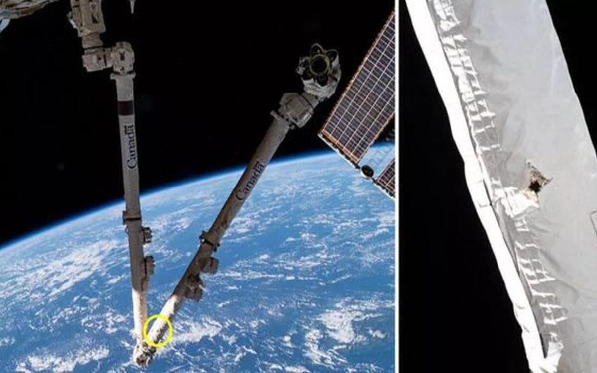Le trou dans l'ISS