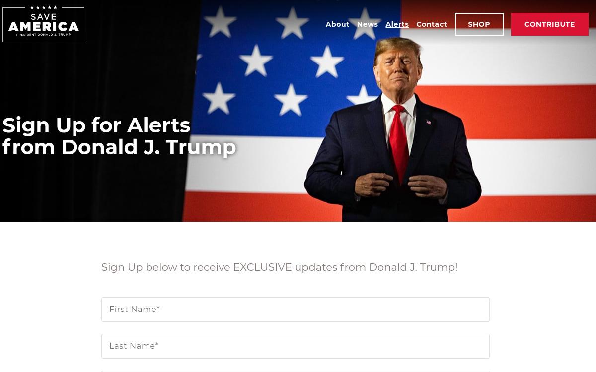 Trump ferme son blog