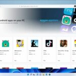 Windows 11 Android et Microsoft Store