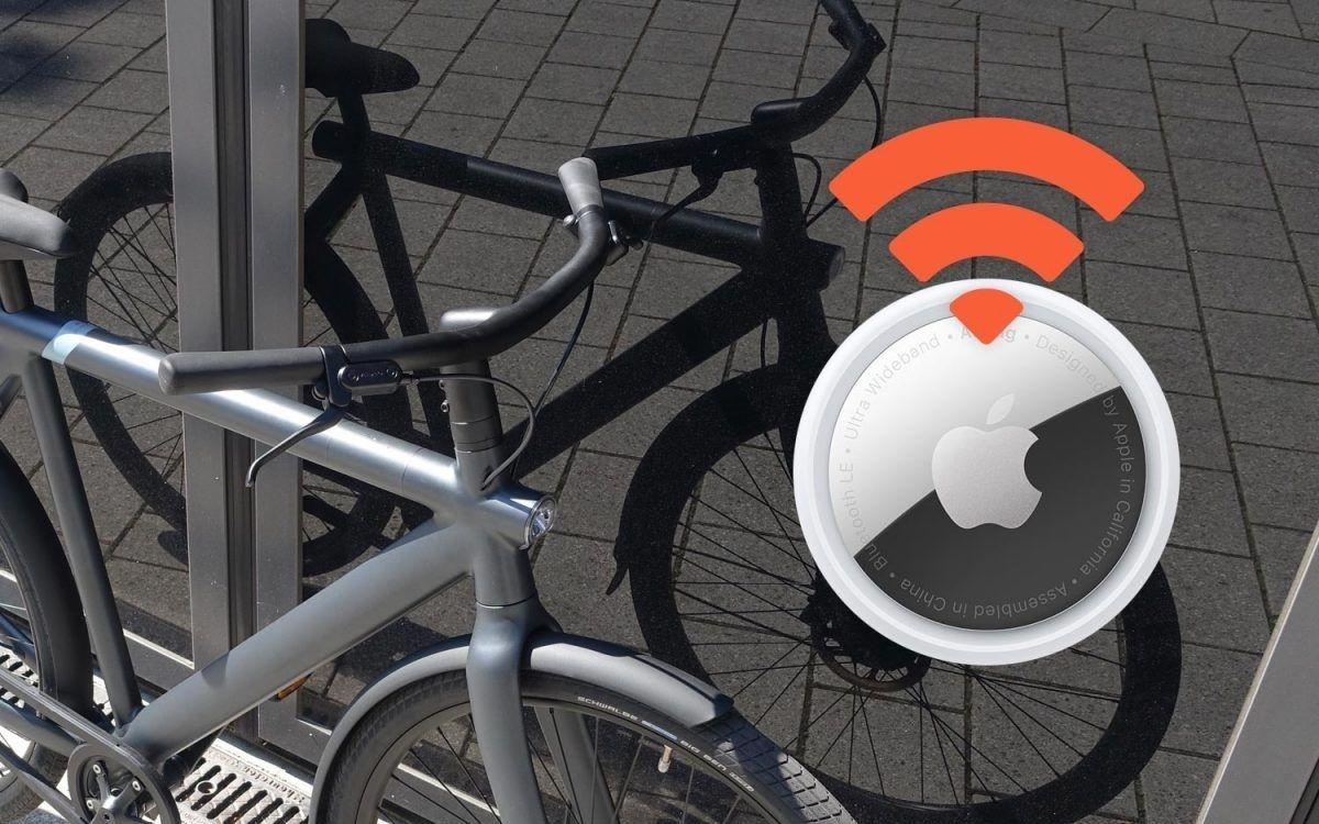 Apple AirTag vélo
