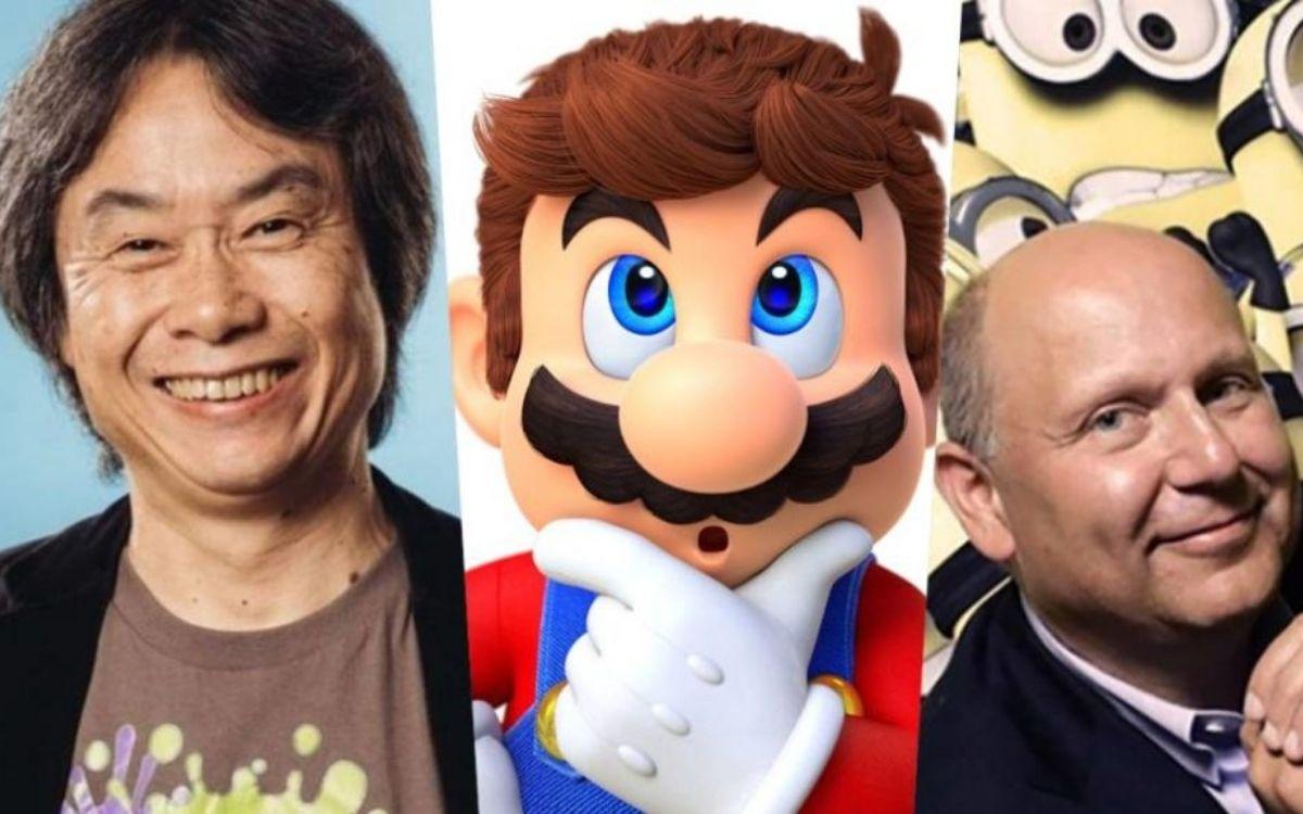 Chris Meledandri et Shigeru Miyamoto