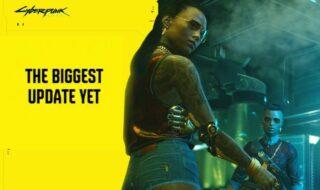Cyberpunk 2077 : CD Projekt tease l'arrivée de la plus grosse mise à jour du jeu