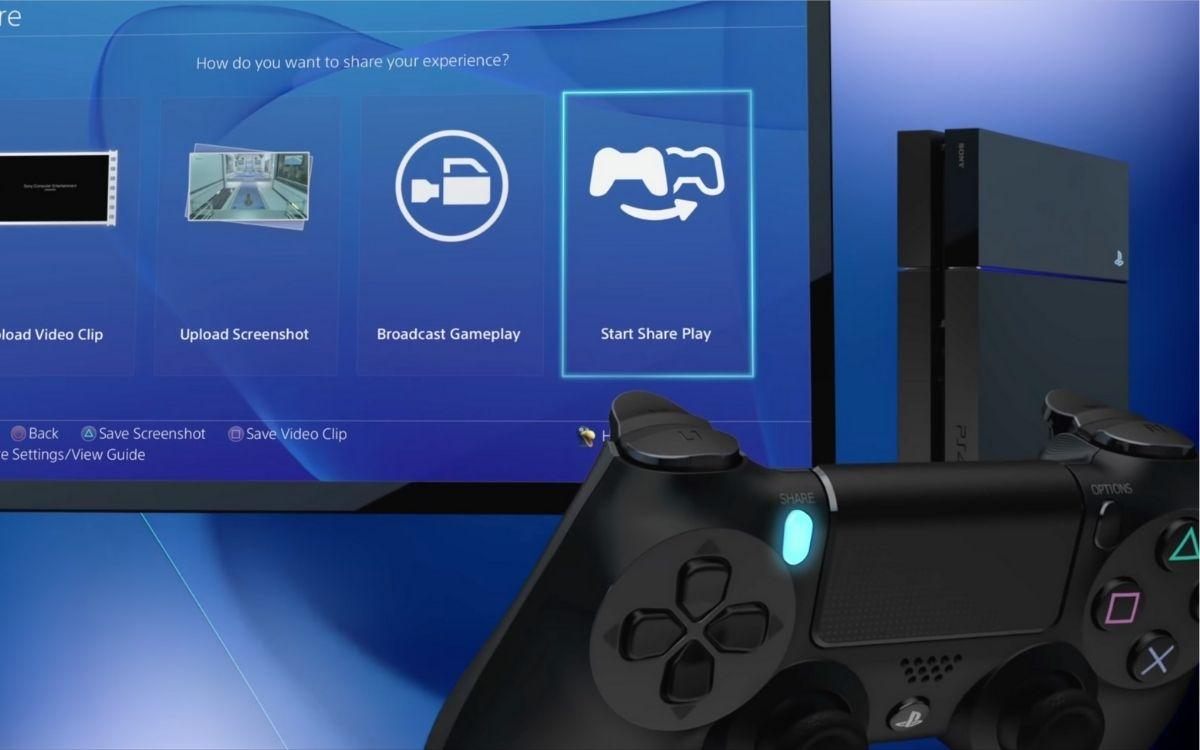 Jeu en partage PS4 PS5