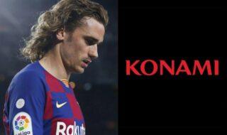 Konami rompt contrat Antoine Griezmann