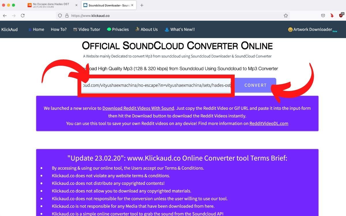 Télécharger musique SoundCloud 2