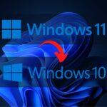 Windows 11 revenir à Windows 10