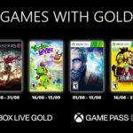 Les jeux Games with Gold d'août 2021
